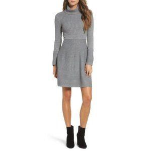 0233 New Eliza J Turtleneck Sweater Dress